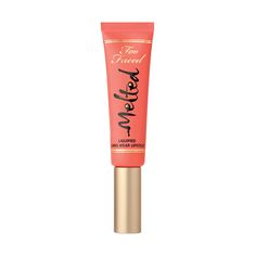 Melted is a revolutionary long lasting lipstick from Too Faced, offering the staying power of a stain with the intense color of a liquid lipstick.