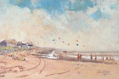 """Paul Apps Artist & Art Tutor on Instagram: """"No 154 Kite Surfers at Camber Sands  12""""x 8"""" Oil plein air . Oil on panel . The next painting offered under the #artistsupportpledge  is…"""" Camber Sands, Art Tutor, Surfers, Kite, Artist Art, Apps, Beach, Painting, Instagram"""