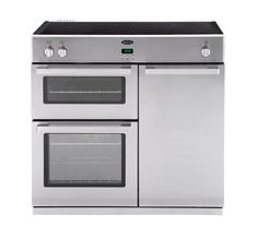 Buy BELLING DB4 90Ei Electric Range Cooker - Stainless Steel | Free Delivery | Currys