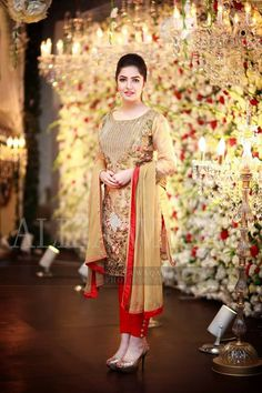 Colors & Crafts Boutique™ offers unique apparel and jewelry to women who value versatility, style and comfort. For inquiries: Call/Text/Whatsapp Pakistani Wedding Outfits, Pakistani Dresses, Indian Dresses, Wedding Dresses For Girls, Party Wear Dresses, Girls Dresses, Summer Dresses, Eastern Dresses, Frock Fashion