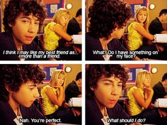 Lizzie McGuire. I had the biggest crush on Gordo when I was a kid
