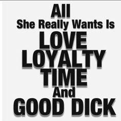 Just saying!