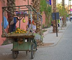 street seller - Last week I was in Marocco and it was a beautiful experience.