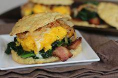 Breakfast Biscuit Sandwiches |
