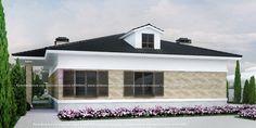 Визуализация одноэтажного загородного дома село Большой Дальник Одесса Архимас