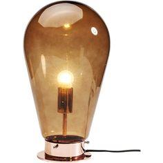 Tafellamp 'Bulb' - Koper
