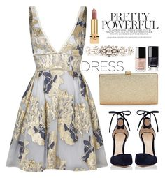 """IT'S MY BIRTHDAY! :)"" by gold-candle23 ❤ liked on Polyvore featuring Notte by Marchesa, Gianvito Rossi, La Regale, Dolce&Gabbana and Yves Saint Laurent"