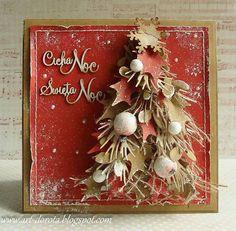 Dorota_mk: Gingerbread Christmas tree