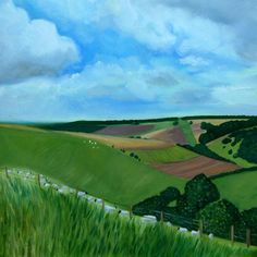 South Downs in Summer