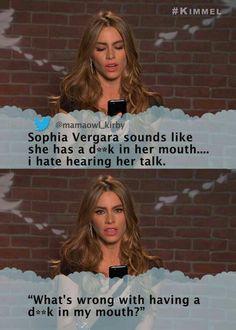 Yet another reason to love Sofia Vergara.