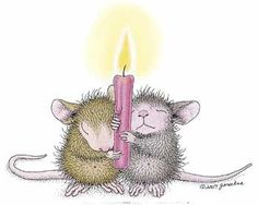 """""""We hope your Holiday was Peaceful."""" from House-Mouse Designs®"""