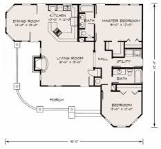Image result for floor plan 2 bedroom one bath small cottage