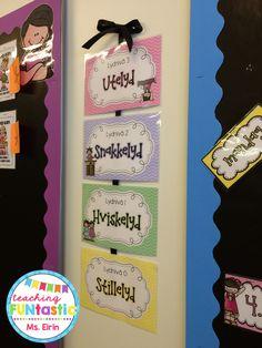 Lydplakater fra www.teachingfuntastic.com