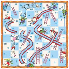 Chutes And Ladders Board Template Chutes And Ladders Board Game - 600x600 - jpeg