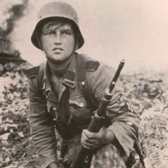 3.SS Panzer Division 'Totenkopf', Warsaw 1944.  He looks to be no older then 15