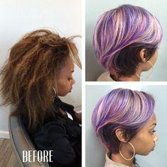 Dope color @versussalon - https://blackhairinformation.com/hairstyle-gallery/dope-color-versussalon/