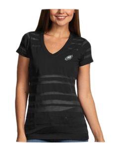 Nike Philadelphia Eagles Women's Team Dedication Tri-Blend T-Shirt ...