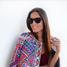 Maria Guedes is definitely a Christophe Sauvat Girl! rocking our Linda jacket! @stylista_mg #christophesauvatgirls #christophesauvat #stylista #socool #sochic #hippiechic #bohocool #bohemian #love