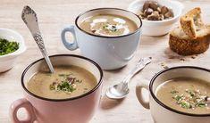 מרק ערמונים ופורצ'יני (צילום: אסף אמברם ,אוכל טוב)