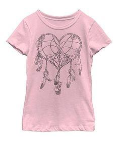Love this Pink Heart Catcher Tee- Kid & Tween on #zulily! #zulilyfinds