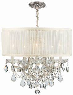 Crystorama 4415-CH-SAW-CL-SAQ, Brentwood Swarovski Crystal Chandelier Lighting, 7LT, 420w, Chrome Crystorama http://www.amazon.com/dp/B003Q8L04S/ref=cm_sw_r_pi_dp_eZV2tb025EVBZQGF