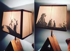The tale of the three brothers and deathly Halloween lamp