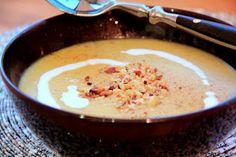 Cozinha de Família: Sopa de Batata Doce e Caril