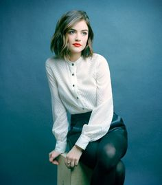 Lucy Hale   Christopher Wahl Portraits for 'The Kit'                                                                                                                                                     Plus