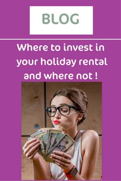 Where to invest in your holiday rental and where not: http://thebusinessofholidayrental.com/where-to-invest-in-your-holiday-rental-business/