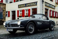 This Is What It's Like To Drive The BMW 507 • Petrolicious