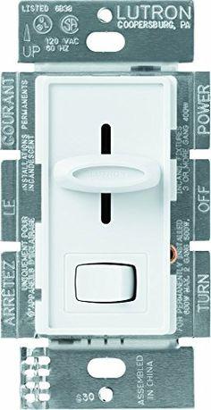 Lutron SCL-153PH-WH 2 Pack Skylark Incandescent Dimmer, White