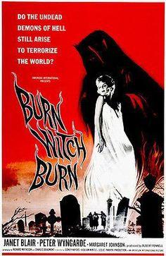 Burn Witch Burn - 1962 - Movie Poster