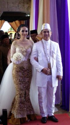 East Meet West Kebaya