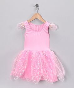 Light Pink & White Fairy Dress - Girls