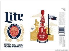 mybeerbuzz.com - Bringing Good Beers & Good People Together...: Miller Lite - ACL Music Fest Commemorative Cans