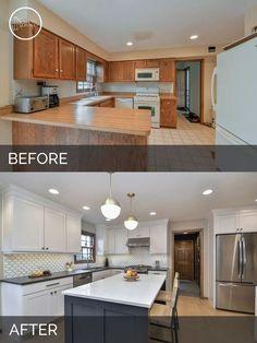 Amazing Transformation Kitchen On A Budget, Home Decor Kitchen, Diy Home  Decor, Home