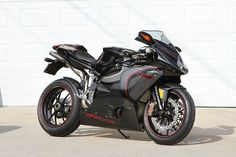 2006 MV Agusta CC of 100 which recently went to new owner Tuan. Best Motorbike, Cafe Racer Style, Gear Drive, Motorcycle Manufacturers, Mv Agusta, Biker Chic, Sportbikes, Motorcycle Design, Cool Motorcycles