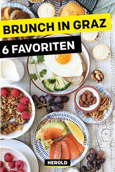 Wo kann man in Graz so richtig gut Brunch essen? Wir verraten dir unsere liebsten Restaurants mit ausgezeichnetem Brunch. #graz Lokal, Restaurants, Beef, Food, Tips, Diners, Meat, Essen
