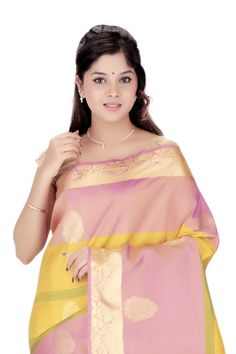 Design Kanjivaram Handloom Silk Sari Buy now @ Rs.8,550.00  #Sari #Sarees #Fashiontra #WomensFashion