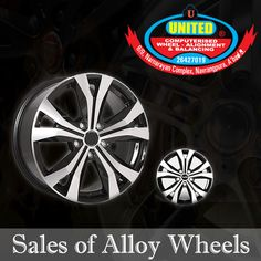 Visit United Tyre Sales Service to choose the most suitable Alloy Wheels for your car at the reasonable rates.#AlloyWheels #Wheel #Ahmedabad