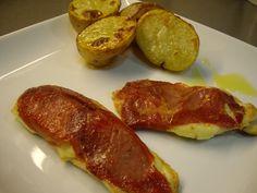 Pechugas de pollo con jamon y brie