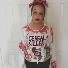 16 last minute halloween costumes literally anyone can pull off cereal killer ccuart Choice Image