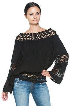 Plus Size Womens Chiffon Lace Top T Shirt Casual Off Sholder Loose Blouse Tops Zara Tops, Tee Shirt Dentelle, Flare, Loose Tops, Plus Size Womens Clothing, Casual Tops, Blouses For Women, Chiffon Tops, Lace Chiffon