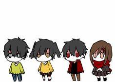 Haruka(Kuroha),Takane(Ene),Shintarou&Ayano