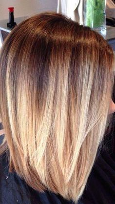 Bob Bob Related Post 40 Wavy Bob Hairstyles 2018 That Look Gorgeous And. Mädchen Bob Frisuren 2018 – 2018 60 Beautiful and Convenient Medium Bob Hairstyles 60 Incredible Inverted Bob Haircuts For Women Haircuts For Medium Hair, Medium Hair Styles, Short Hair Styles, Bob Styles, Hair Color And Cut, Ombre Hair Color, Ombre Hair Bob, Long Bob Ombre, Blonde Ombre Bob