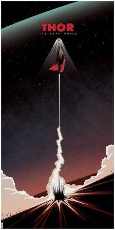 Thor: The Dark World Poster by Matt Ferguson