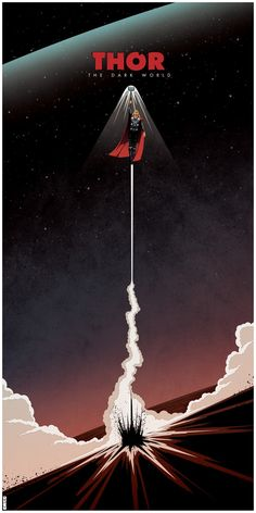 Thor Art poster