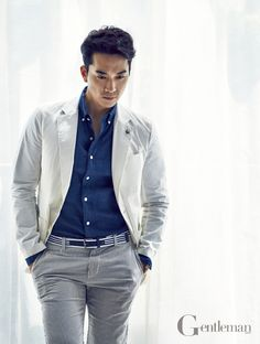 Song Seung Hun - Gentleman Magazine June Issue '14
