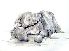 23 meilleures images du tableau art rocher falaise rock cakes art et art background - Rocher dessin ...