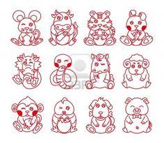 http://us.123rf.com/400wm/400/400/artboxcn/artboxcn1104/artboxcn110400001/9365306-chinese-zodiac-twelve-animals-line-art.jpg